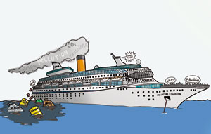 Environmental impacts of the cruise industry