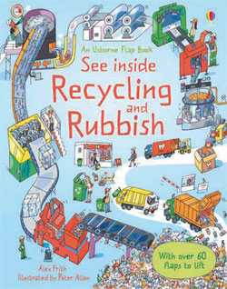 See inside Recycling and Rubbish by Alex Frith