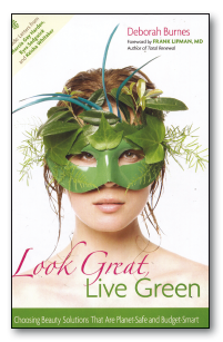 "A book cover ""Live Green"""