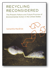 """Recycling Reconsidered"" Book Cover"