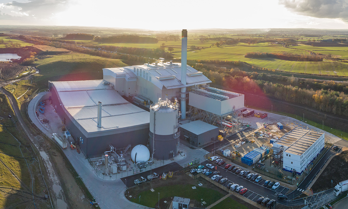 Amey energy-from-waste plant begins operations in North