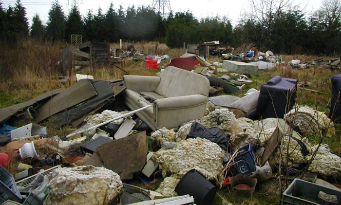 Furniture Takeback Schemes Needed As Fly Tipping Costs To Councils Rise To  £57m