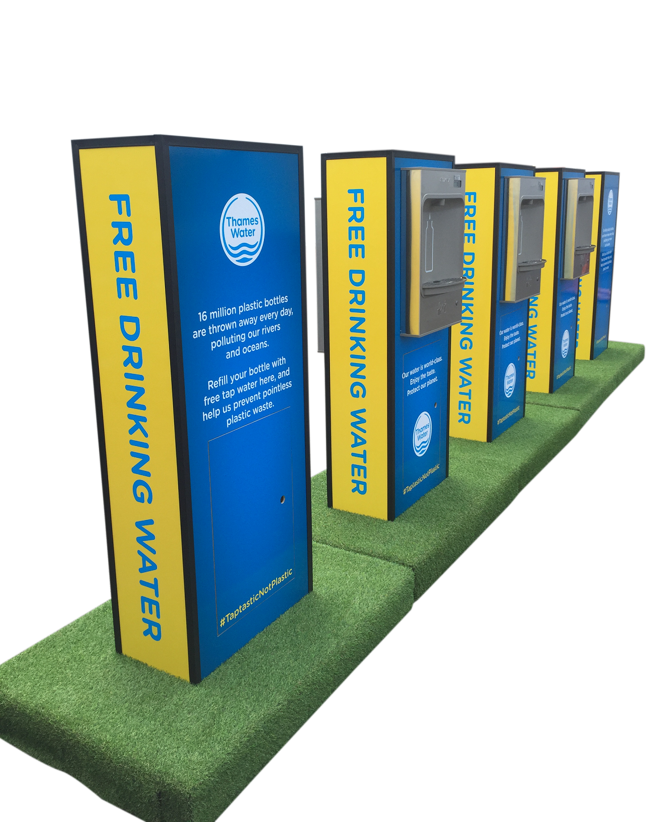 Thames Water unveils pop-up refill points at Countryfile