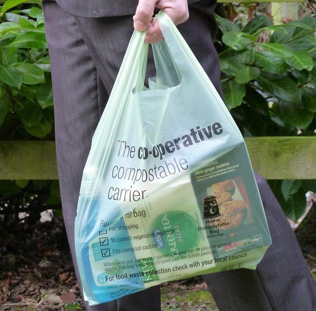 how to make bioplastic bag