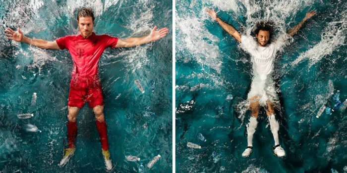 Adidas launch recycled ocean plastic football kits