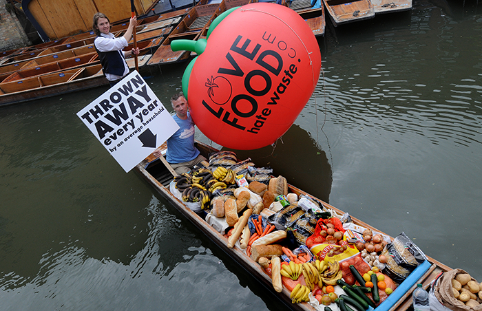 Cambridge highlights food waste arisings