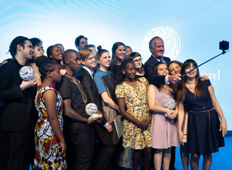 Winners at the Global Change Award Ceremony