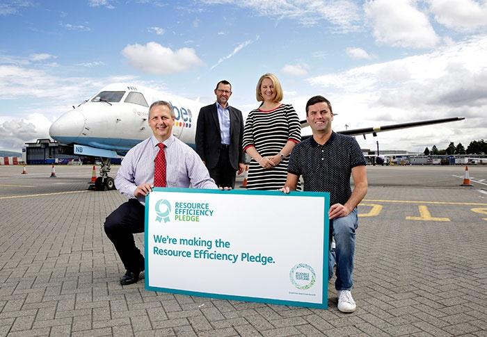 Glasgow Airport recycling surpasses 90 per cent