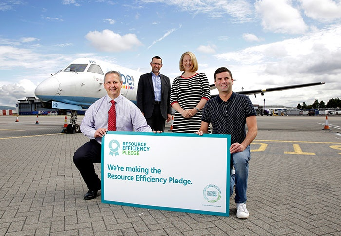 Glasgow Airport recycling surpasses 90 per cent