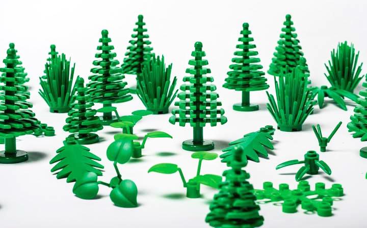 LEGO launches bioplastic bricks