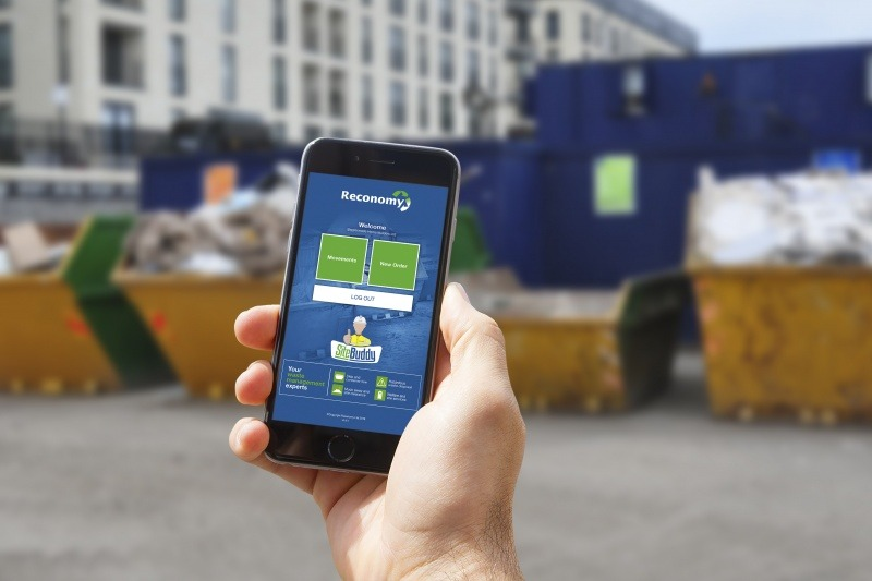 Reconomy's skip hire app hits major milestone