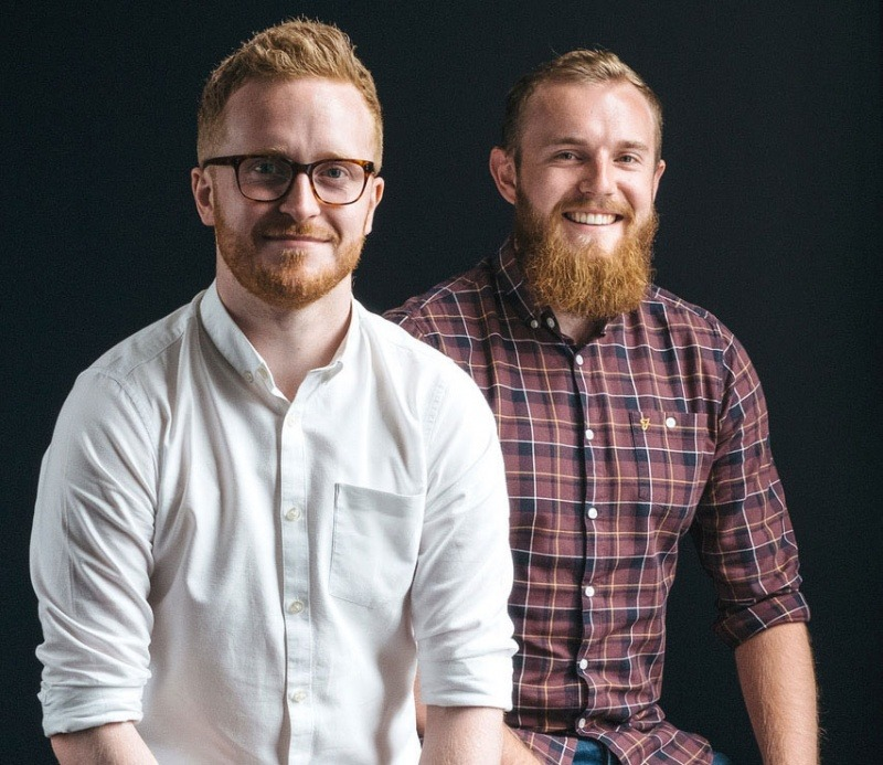 Revive Eco founders Fergus Moore and Scott Kennedy