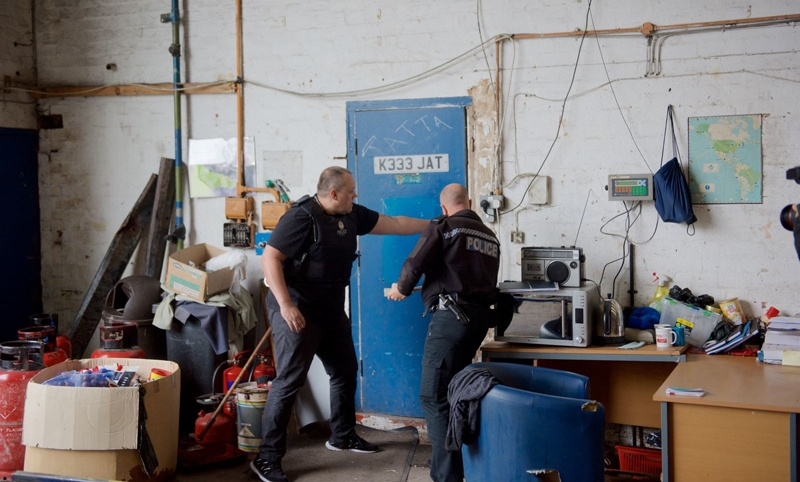 'Gangmasters' arrested after slavery raids on West Midlands recycling plants