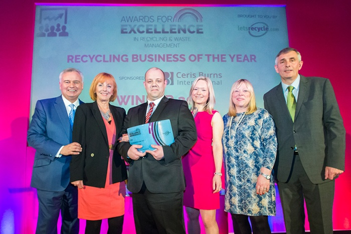 PHS Wastemanagement receives Recycling Business of the Year Award
