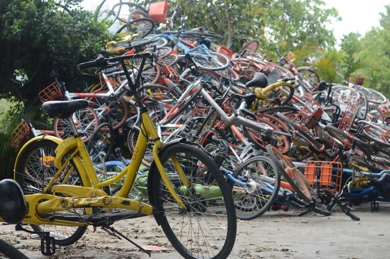 Bike-share companies accused of creating e-waste mountains