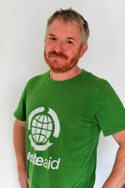 Mike Webster, Chief Executive of WasteAid