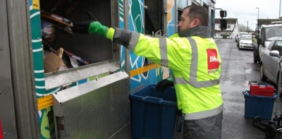 Three-weekly collections boost Anglesey recycling rate by 10 per cent