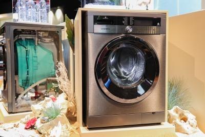 Arçelik's washing machine with microfiber filtering technology