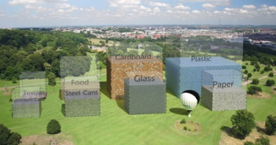 Bristol Waste is showing residents how much opportunity is being wasted in their bins using the city's famous Balloon Fiesta