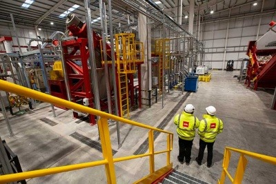 Biffa's Seaham plastic recycling plant