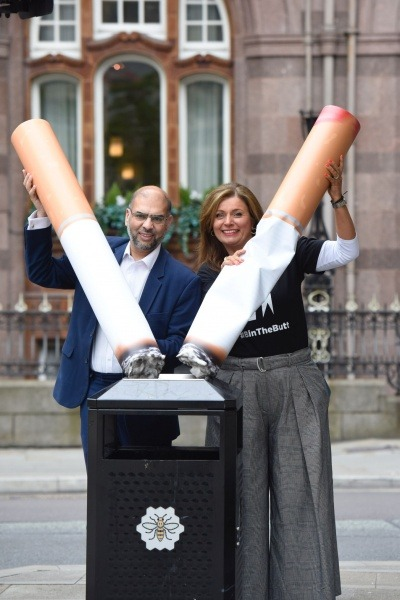 Keep Britain Tidy launches cigarette litter campaign