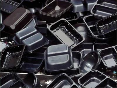 Black plastic packagin