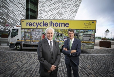 Bryson Recycling celebrates 25 years cleaning up Northern Ireland's waste
