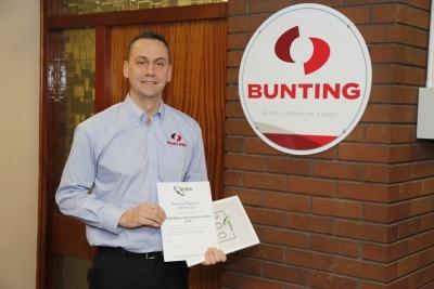 Simon Ayling, Bunting's European Managing Director