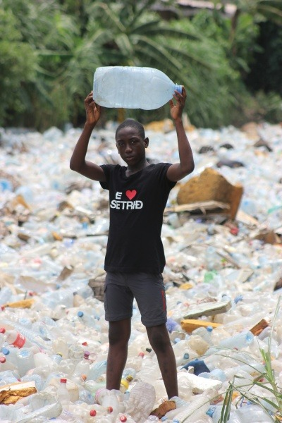 Plastic waste is suffocating some of the most marginalised communities in Cameroon.