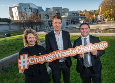 #ChangeWasteChallenge campaign launches in Scotland
