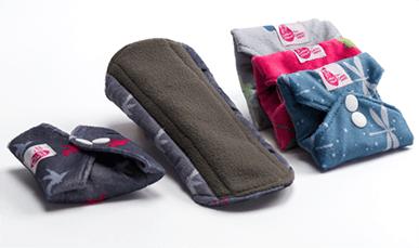 Cheeky Wipes reusable sanitary pads