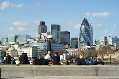 View of City of London