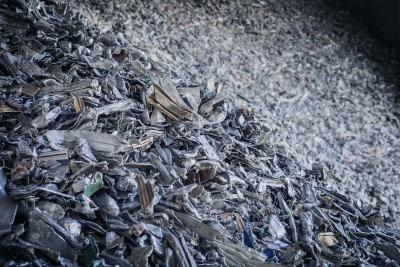 Clean aluminium at Centro Rottami