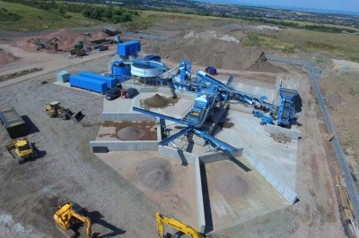 UK's largest C&D recycling plant opens in Scotland