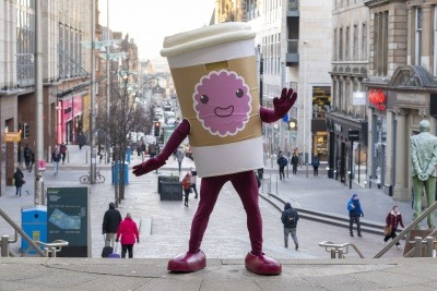 Glasgow retailers join movement to reduce Scotland's coffee cup waste