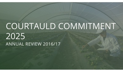Courtauld 2025 annual review details first year waste successes