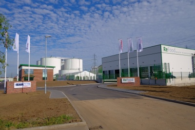 First collections received at ReFood's state-of-the-art Dagenham AD plant