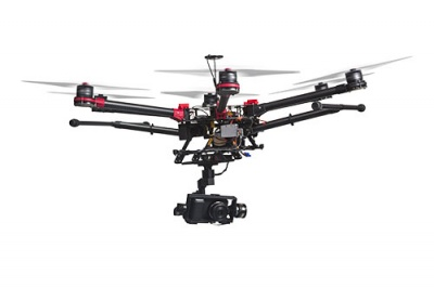 Drones in waste management