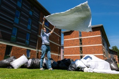 Sussex University campus duvet collection