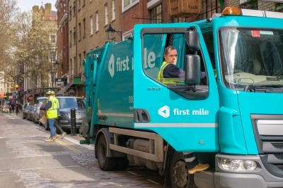 First Mile lorry