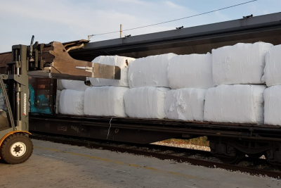 Geminor waste transportation train