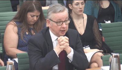 Gove raids 400 staff from environment bodies for Defra Brexit preparations
