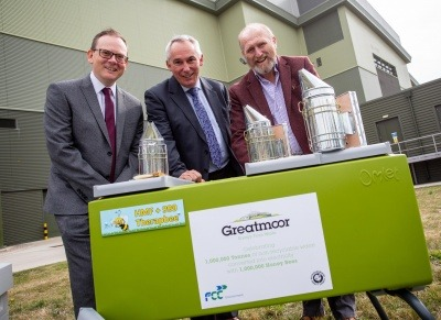 Buckinghamshire County Council marks EfW milestone by sponsoring one million bees