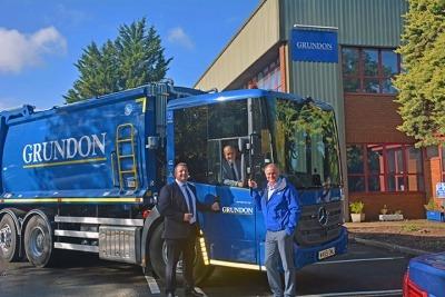 New Grundon truck for the Bristol fleet