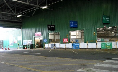 A Household Waste Recycling Centre in Kent