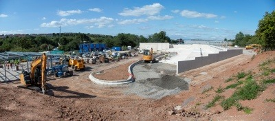 Hartcliffe Way Depot Construction Site