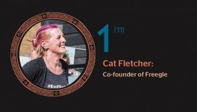 Hot 100 2019: Reuse champion Cat Fletcher named as 2019's Legend of Waste