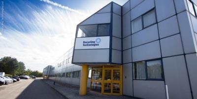 Recycling Technologies' Swindon headquarters