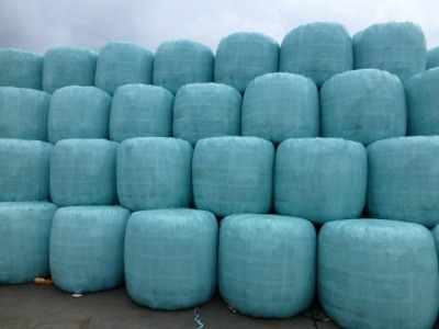 Bales of RDF ready to export