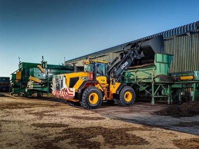 Updated JCB wheeled loaders